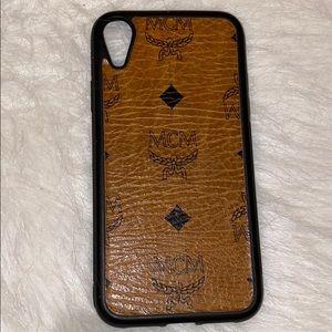 MCM phone case iPhone XR